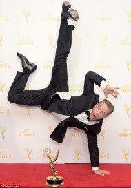 Derek Hough - Emmy winner 2015 Courtesy: Reuters